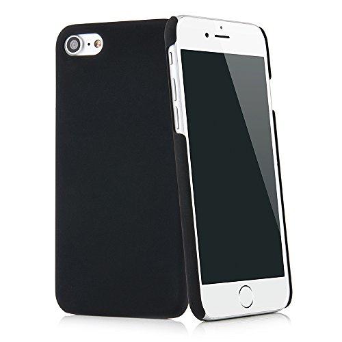 QUADOCTA iPhone SE (2020), iPhone 8 / iPhone 7 (4,7'), custodia sottile, anti-impronte e anti-graffio, in nero opaco