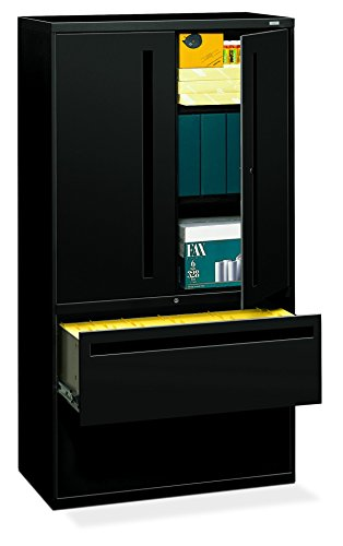 Big Sale Best Cheap Deals HON 785LSP 700 Series 36 by 19-1/4-Inch Lateral File with Storage Cabinet, Black