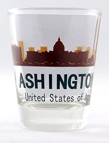 Washington D.C. Sunset Skyline Shot Glass