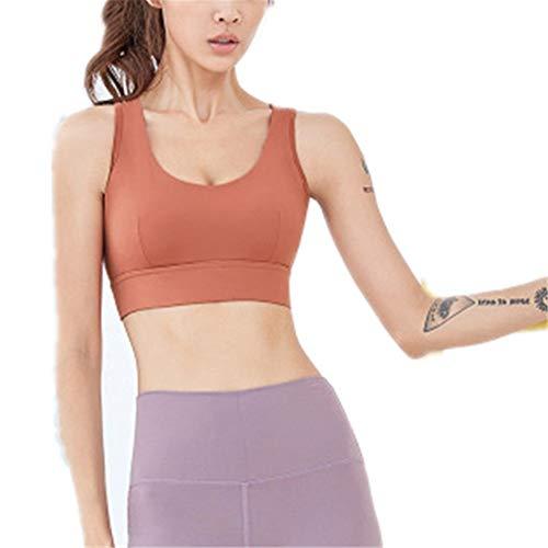 Zavddy Camiseta de Tirantes Deportivas para Mujer Belleza Volver a Prueba de Golpes Yoga Fitness Transpirable deshumidificación Reunidos Ropa Interior Deportiva para Chica Adolescente