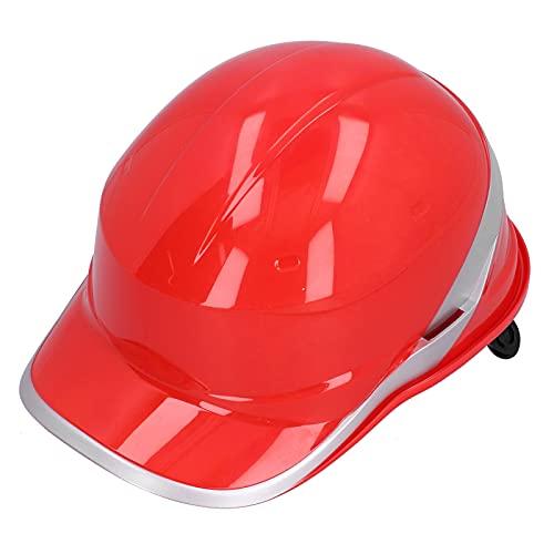 Casco ajustable anti-rotura de absorción de impactos Dioche con ranura reflectante, para trabajo en altura y rescate, raya para sitios de construcción, hogar