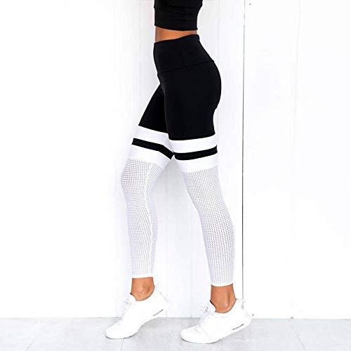 KOLIU Deportes Yoga Leggings de fitness para mujeres Deportes Mallas ajustadas Legging Yoga Yoga Pantalones Mujeres Mallas para correr Mujeres Yoga Leggings-W01_L
