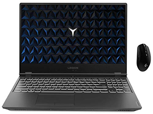 Lenovo Legion Y540 9th Gen Core Intel I7 15.6 inch FHD Gaming Laptop (16GB RAM/512 SSD / Windows 10 Home / 4GB NVIDIA GTX 1650 Graphics / Black / 2.3 Kg) with logitech Wireless Gaming Mouse