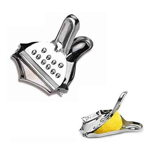 Slice Scheezers de limón Set 4PACK - Juicer Manual de Acero