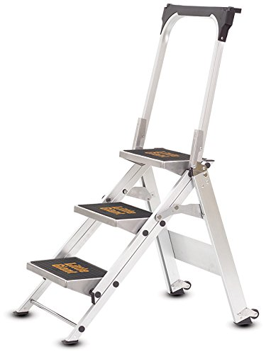 Little Giant 3 Tread Safety Step Ladder | Folding Step...