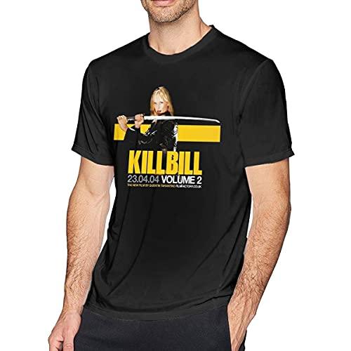 IUBBKI Camiseta de Kill Bill Movie para Hombre, Manga Corta, Cuello Redondo