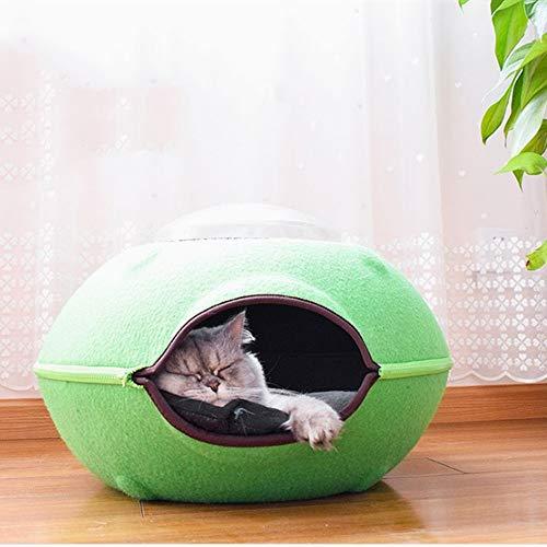 MDYYD Casa de gato al aire Libre Cat House Pet Supplies Best Choice Product Cat Litter Pet Outdoor Or Indoor Cat Litter Cat Like House Cat Play Sleeping Tienda para mascotas cama Suave