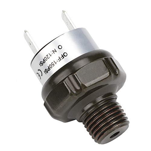Interruptor de presión del compresor de aire NPT de 1/4'de acero inoxidable, interruptor de presión, para automóvil