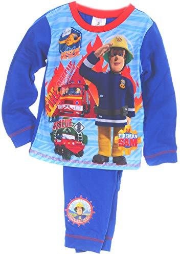 Fireman Sam Baby Kinder Pyjama Set 80 86 92 98 104 110 Schlafanzug Hose (3/4-98/104)