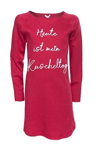 Louis & Louisa Nachthemd Damen - KUSCHELTAG - rot