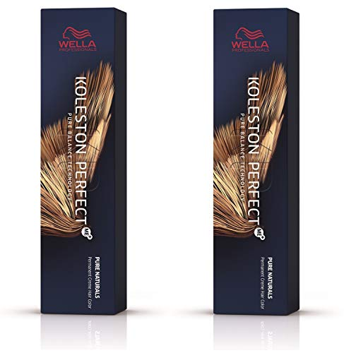 Wella 2 er Pack Koleston Perfect Me+ KP PURE NATURALS 7/0 mittelblond