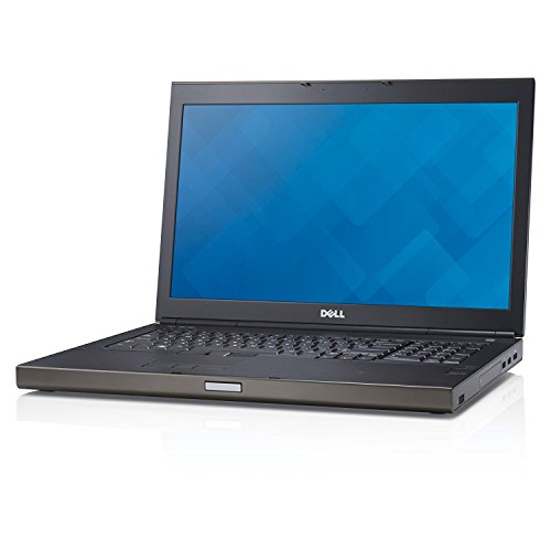 Dell Precision M6800 17.3in Laptop Business Notebook (Intel Core i7-4810MQ, 16GB Ram, 500GB HDD, NVIDIA Quadro K3100M, HDMI, DVD-ROM, WiFi, Express Card) Win 10 (Renewed)