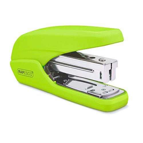 Rapesco 1395 X5-25ps Less Effort Heftgerät (Typ 26 & Typ 24/6mm Heftklammern) Reduzierter Kraftaufwand Tacker Grün