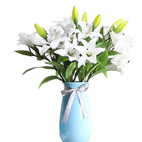 Flores Artificiales Decorativas Para Jarron flores artificiales  Marca GKONGU