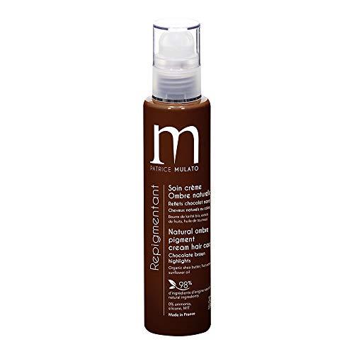 Mulato– Pflegecreme zur Repigmentierung/ Nachtönen der natürlichen Haarfarbe, Farbe: Schokoladenbraun, 200ml