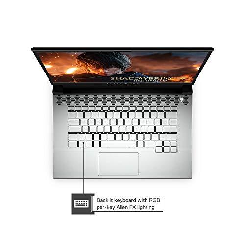 Dell Alienware M15 R2 15.6-inch FHD Laptop (9th Gen Core i9-9980HK/16GB/1TB SSD/Windows 10 + MS Office/8GB NVIDIA 2080 Graphics), Lunar Light