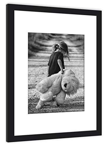 GaviaStore Art Prints - Fotografía con Marco - 70x50 cm - cuadros Pintura Cartel Foto Mueble Art hogar impresión decoración casa Sala Poster Cuadro Imagen Enmarcad wall art picture (Amor 6)
