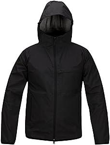 Propper Men's Packable Waterproof Jacket, Black, Small/2