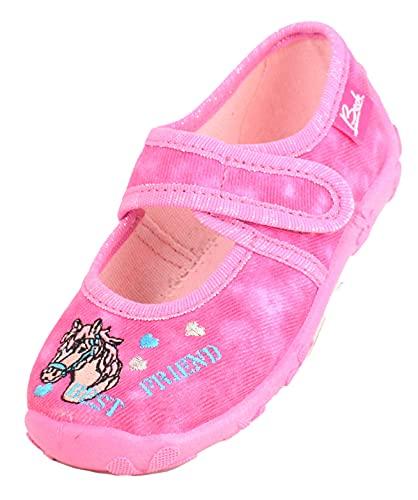 Beck Mädchen Best Friend Hausschuhe, Pink (Pink 06), 27 EU