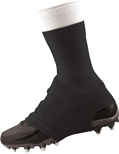 TCK Football Spat Cleat Covers (Black, Medium)