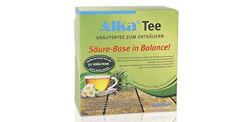 Alka® Tee: Basischer Kräutertee zum Entsäuern aus 52 Kräutern - 50 Teebeutel