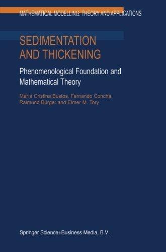 Sedimentation and Thickening: Phenomenological Foundation
