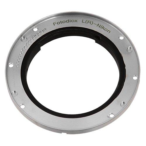 Fotodiox Pro Adapter, Leica R Objektiv auf Nikon Kamera Mount Objektivadapter -- für Nikon D1, D2, D3, D3x,D3s, D100, D200, D300, D300s, D700, D40, D40x, D50, D60, D70, D70s, D80, D90, D3000, D3100, D5000, D7000