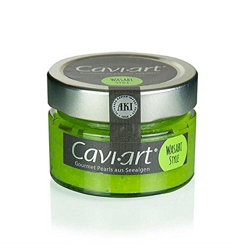 Cavi-Art® Algen-Kaviar, Wasabi-Geschmack, 100g