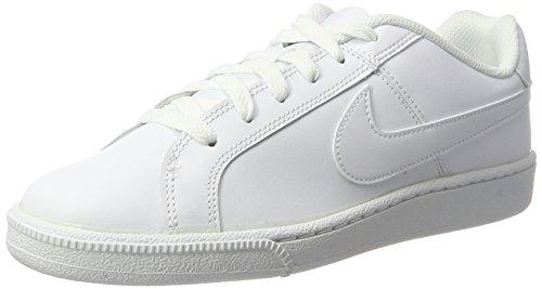 Nike WMNS Court Royale, Chaussures de Tennis Femme, Blanc Cassé (White/White), 38.5 EU