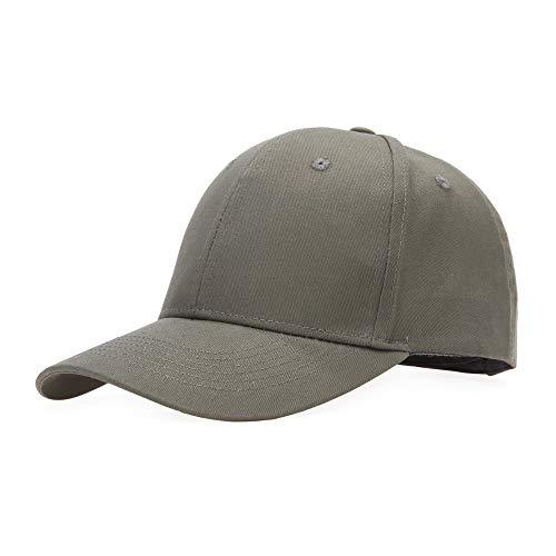Baseballcap Unisex Käppi Cap Baseballmütze Schirmmütze Damen Herren Hip-Hop-Mütze, Einheitsgröße, Olive