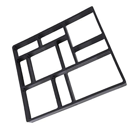 成形舗装金型 メーカー金型 ホーム ガーデン DIY 45×40×4センチ プラスチック