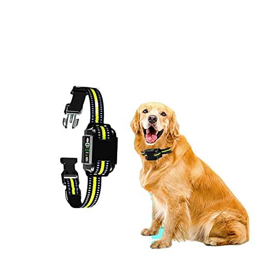 N\C Dispositivo de Entrenamiento para Perros Anti-Error de decisión Cuello de Entrenamiento Resistente al Agua con vibración y Descarga eléctrica