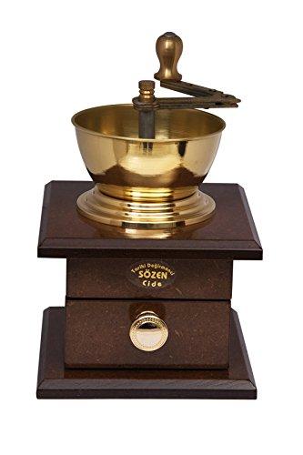 Sözen Degirmenleri große handgemachte manuelle Kaffeemühle - Handmühle aus Holz nach türkischer Art - EL yapimi nostaljik Kahve degirmeni