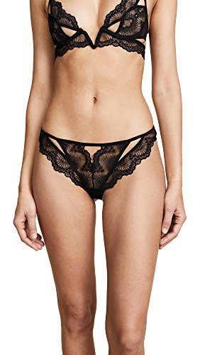 Thistle & Spire Women's Kane Cutout Thong, Black, Small