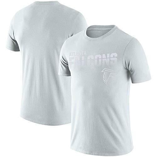 ZEH Camiseta de fútbol NFL100 sideline platino aniversario conmemorativo rendimiento camiseta (color: Q, tamaño: XXXL) FACAI