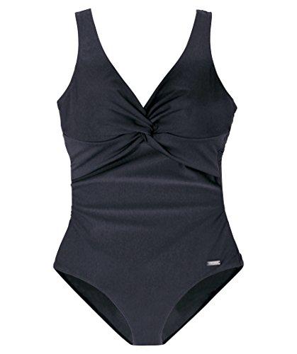 Lascana Damen Badeanzug schwarz 46 / C