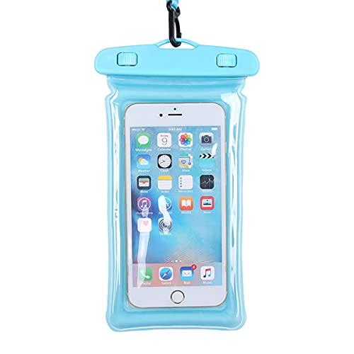 Funda Impermeable para Teléfono Móvil, Bolsa Seca con Flotabilidad, Utilizada para Nadar, Bucear, Etc, Adecuada para Apple, Samsung, Huawei Y Otros Teléfonos Móviles, hasta 6 Pulgadas