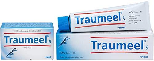 Traumeel® S Tabletten und Creme 250Tabletten und 100g Creme schnellere und bessere Wirkung wird durch die Kombination von Tabletten und Creme