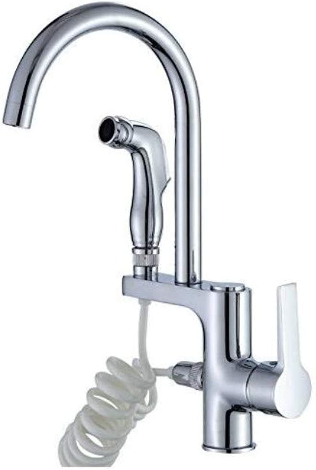 Taps Kitchen Sink Antique Kitchen Sink Mixer Tap The Multi-Purpose Copper Kitchen Faucet Hot and Cold Wash