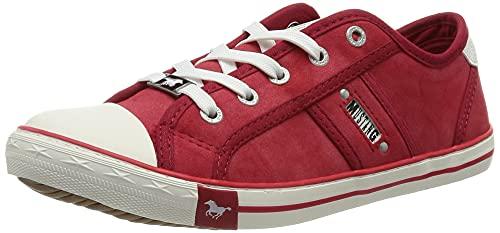 MUSTANG Damen 1099-323-5 Sneaker, rot, 38 EU