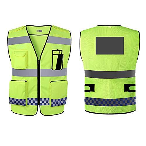 QXF-DBX Weste mit Reflective High Visibility Warnweste Gewohnheit Ihr Logo Schutz- Und Arbeitskleidung Sicherheitsweste Mesh-Berufsbekleidung Geschäftsführer AS