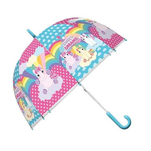 TRADE EUROSWAN Paraguas Unicornio 46 cm. Kids KL10566