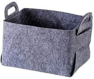 SAP Panier de Rangement en Feutre de Stockage Panier Vêtements Boîte de Finition en Tissu Sale Panier à Linge Toy Boîte de...