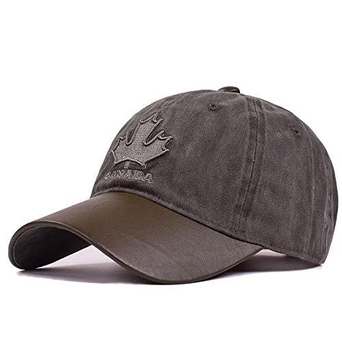 GorrasDeHombre Sombreros Gorra De Béisbol Diseño Simple Gorras para Hombres StreetwearMujeres Snapback Bone Trucker Hats Ajustable Graybaseballcap