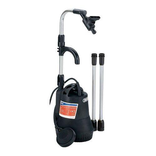 Draper 40218 230-Volt 350-Watt Submersible Water Butt Pump with Float Switch