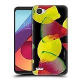 Head Case Designs Officiel Turnowsky Noir Éclater De Fruit Coque en Gel Doux Compatible avec LG Q6...