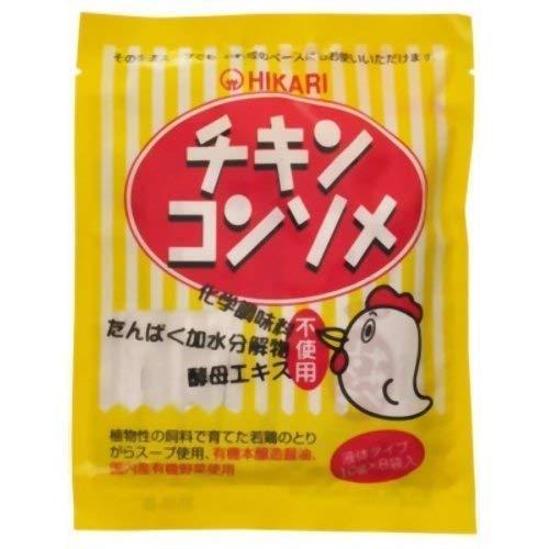 光食品 光 チキンコンソメ 10g*8袋 ×4セット