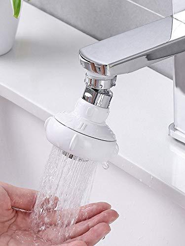Lamcomt Extensor de Grifo para niños Hogar Cocina Gráfica Extender Splash Faucet Ducha Boquilla Boquilla Rotativo Filtro Filtro Economizador (Color : S)