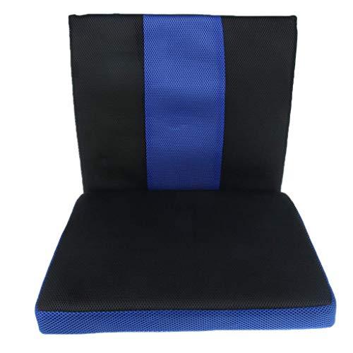 Tubayia Atmungsaktiv Orthopädisches Sitzkissen Rückenkissen für Bürostuhl, Autositz, Rollstuhl