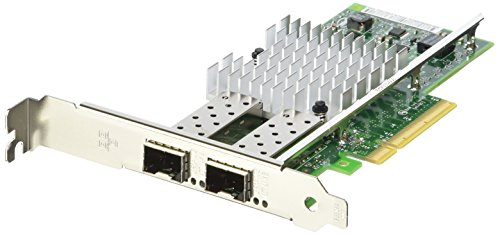 Intel X520-DA2 Ethernet Server Adapter (PCI Express 2.0 x8 Low Profile, 10 Gigabit Ethernet, 2 Anschlüsse)